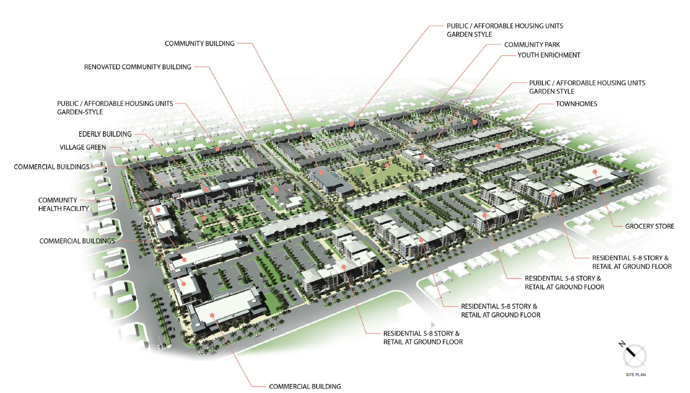 Liberty Square Site Plan